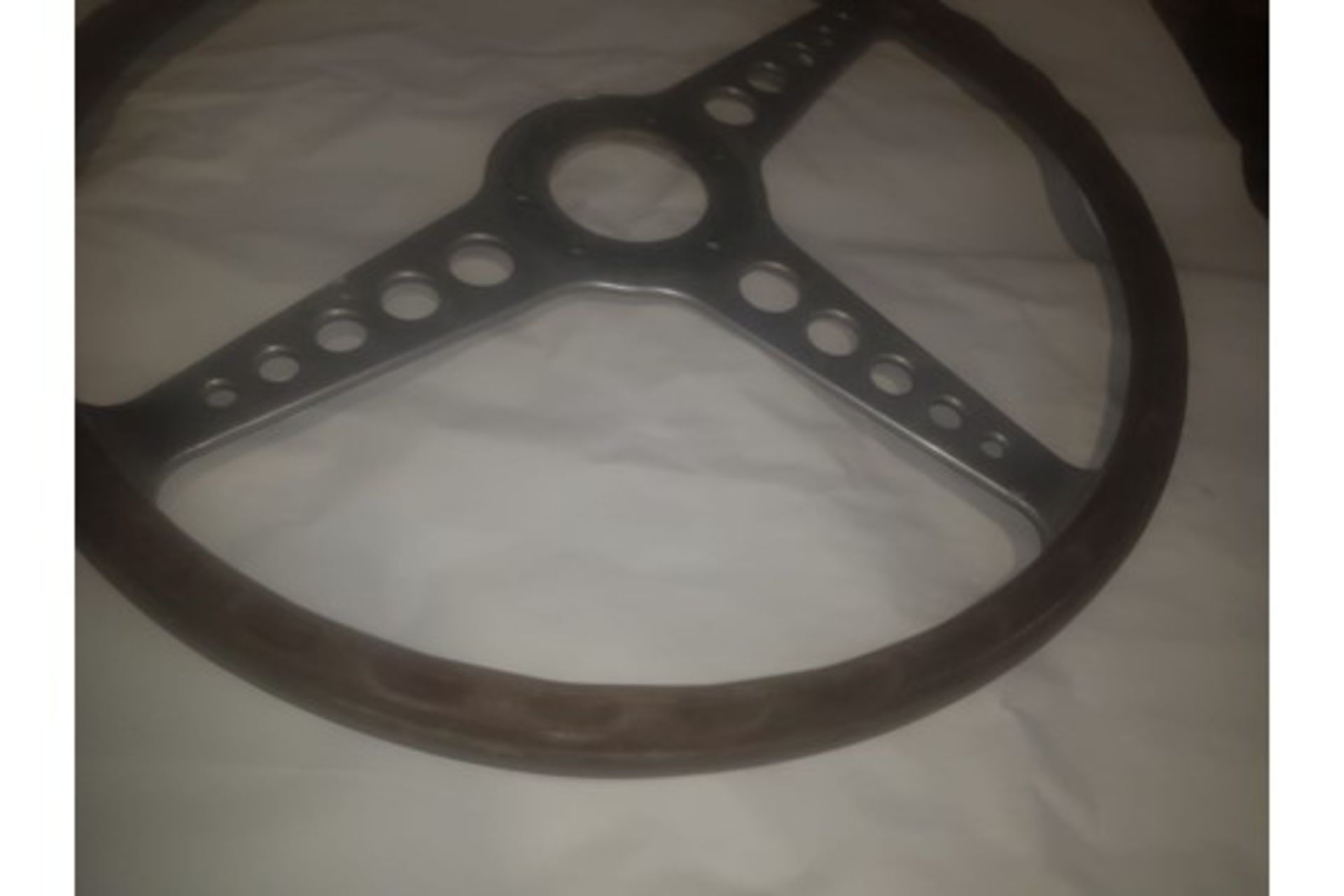 Lot 72 - JAGUAR STEERING WHEEL