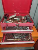 SMALL THREE DRAW CHEST INC WELDING PARTS AND DIE TOOLS