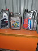 3 X FULL LUBRICANTS AS PER PHOTO