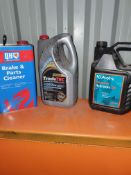 VARIOUS STARTED LUBRICANTS AS PER PHOTO