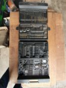 CASE OF DRILL BITS ( SOME MISSING )