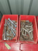 2 X CONTAINERS OF VARIOUS MANIFOLD BOLTS