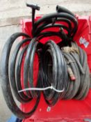 HYDRAULIC HOSES SEE DISCRIPTION