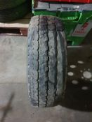 VW CRAFTER VAN WHEEL, TYRE IS FLAT, HAS A PUNCTURE