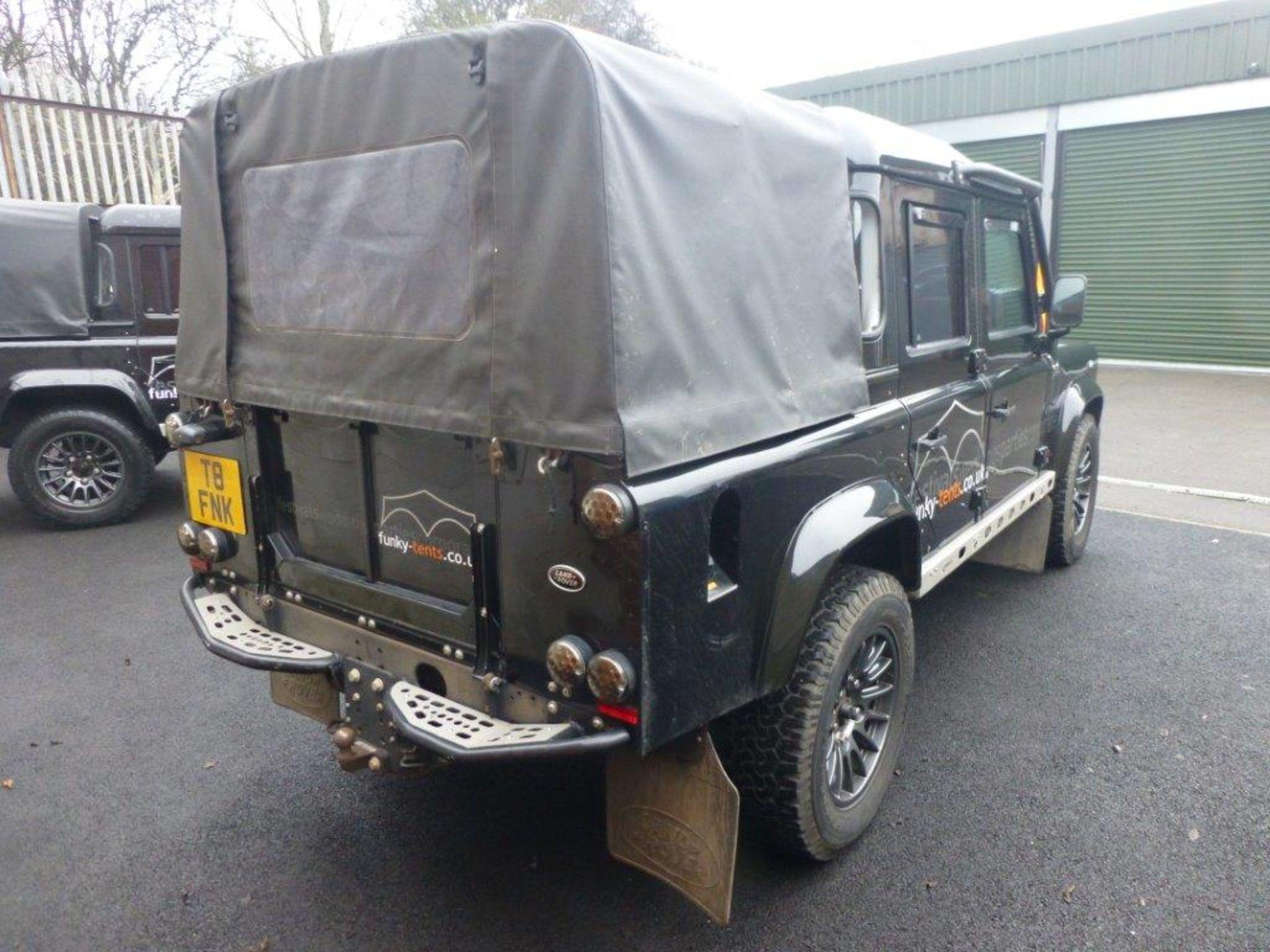 Land Rover Defender 110 XS Bowler double cab pickup TDCi (2.2). Reg no. FN15 LBK. Reg. date 23/03/ - Image 4 of 12