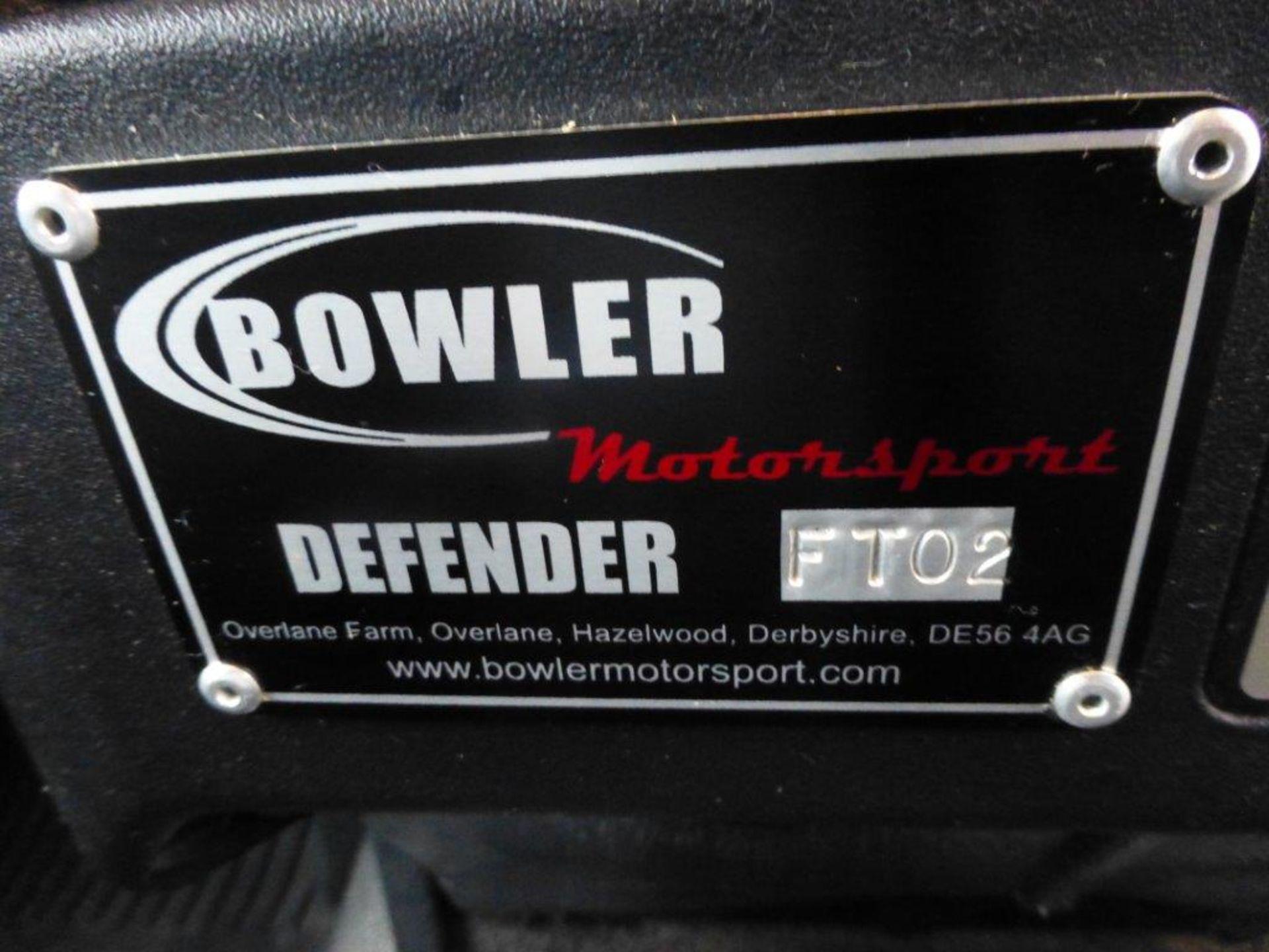 Land Rover Defender 110 XS Bowler double cab pickup TDCi (2.2). Reg no. FN15 LBK. Reg. date 23/03/ - Image 8 of 12