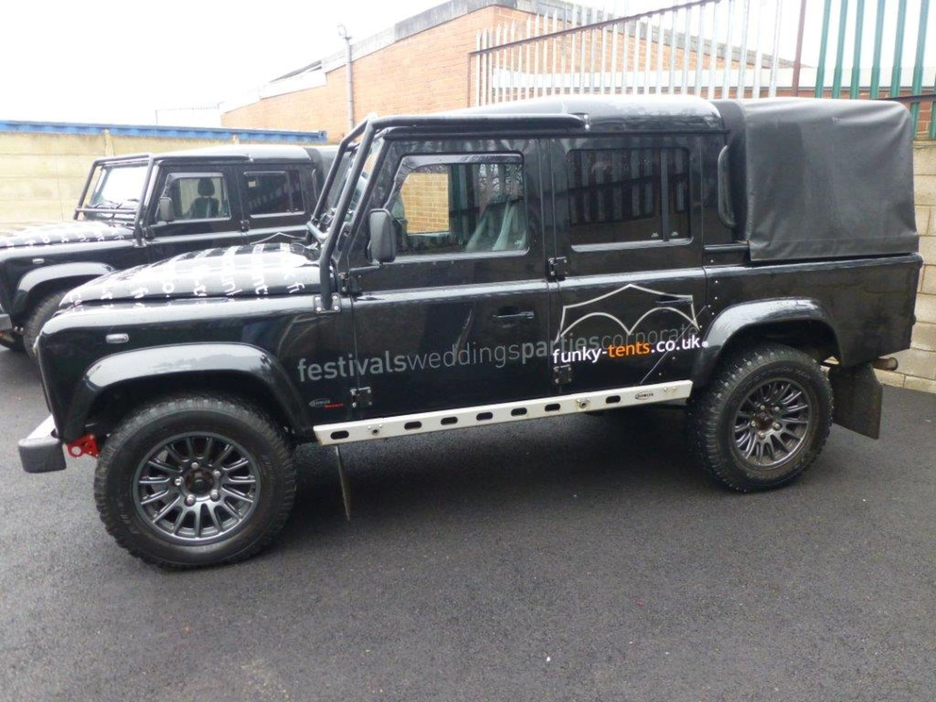 Land Rover Defender 110 XS Bowler double cab pickup TDCi (2.2). Reg no. T9 FNK. Reg. date 23/03/ - Image 3 of 13