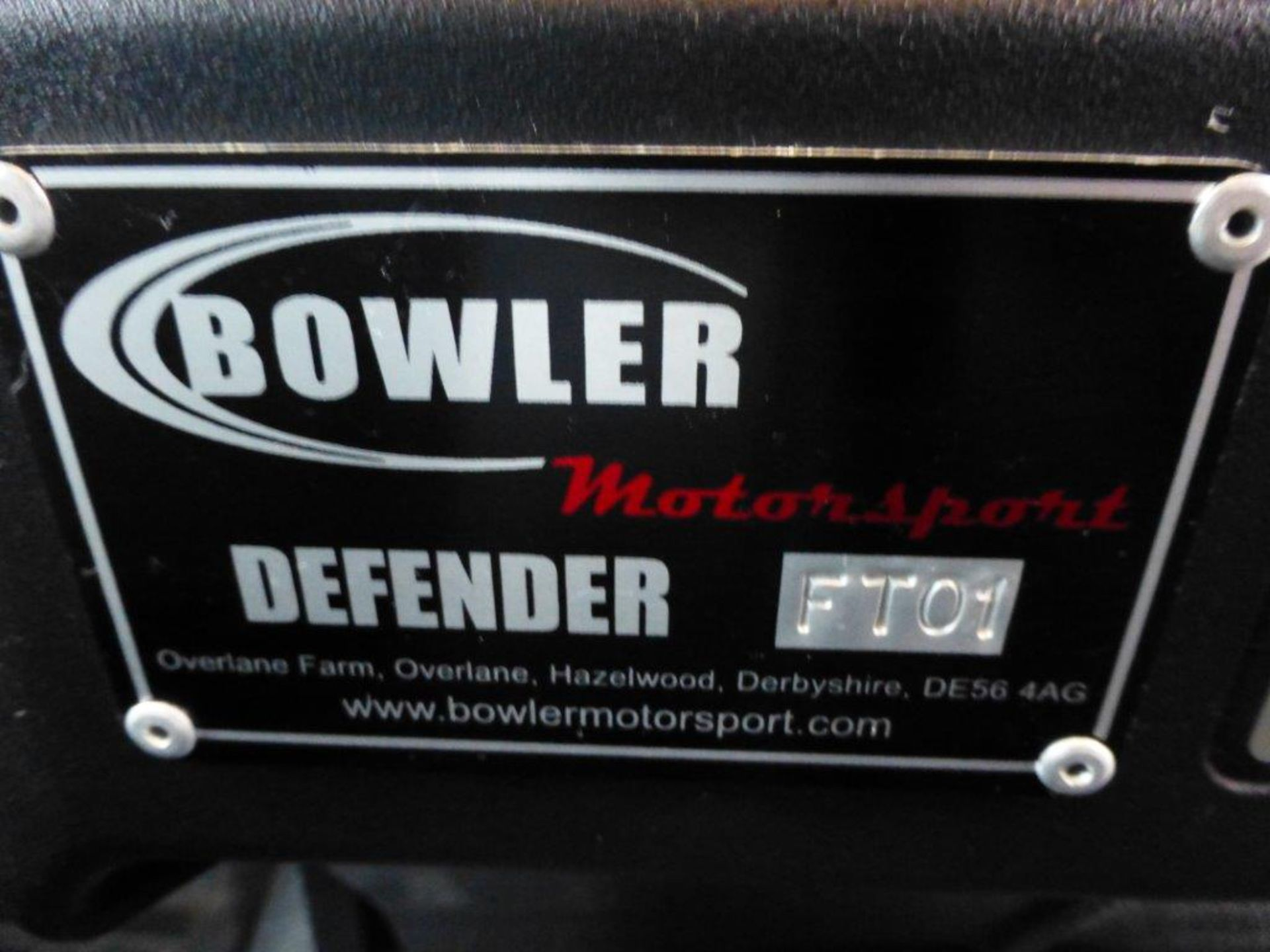 Land Rover Defender 110 XS Bowler double cab pickup TDCi (2.2). Reg no. T9 FNK. Reg. date 23/03/ - Image 12 of 13