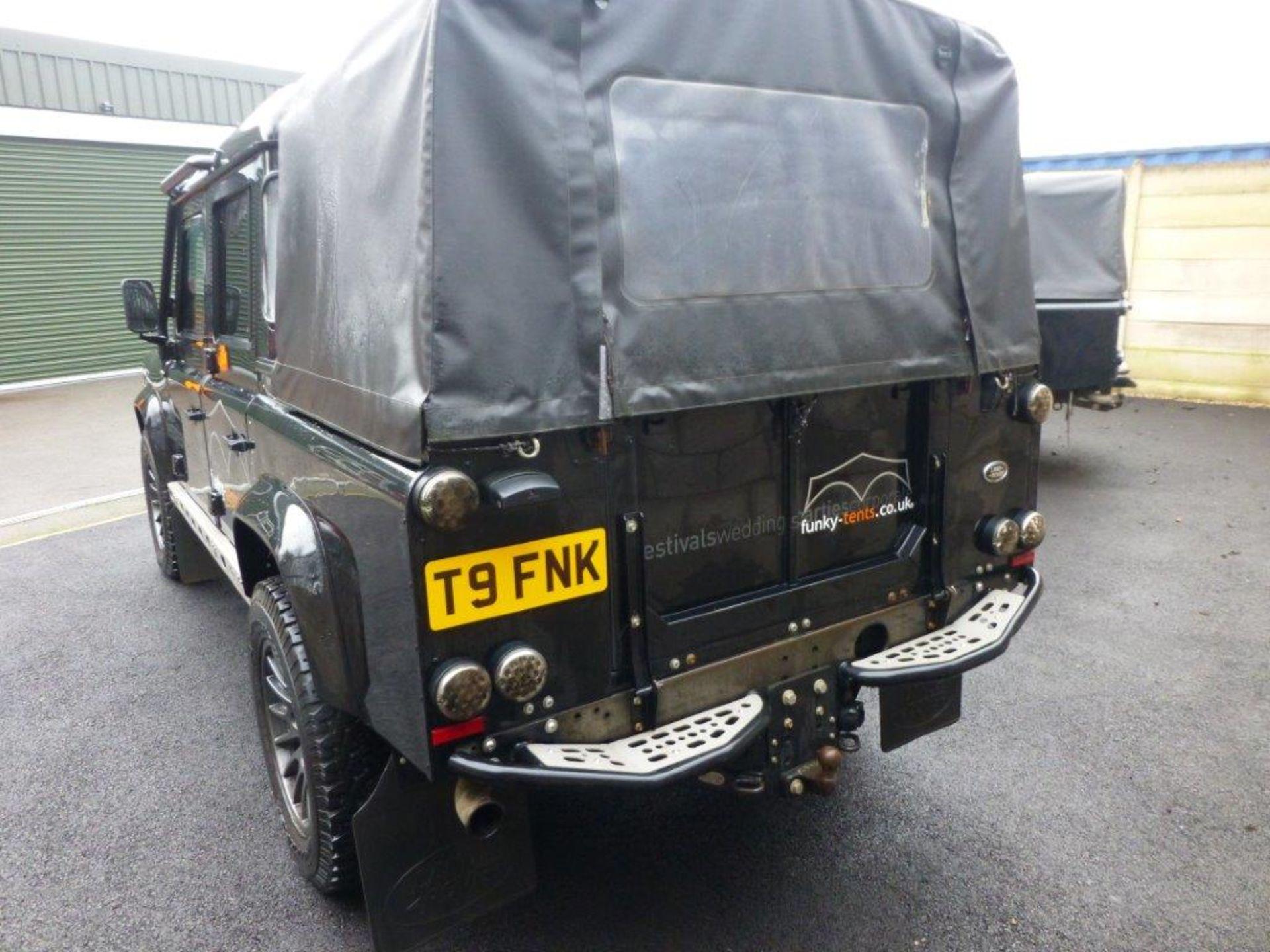 Land Rover Defender 110 XS Bowler double cab pickup TDCi (2.2). Reg no. T9 FNK. Reg. date 23/03/ - Image 6 of 13