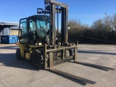 Hyster H9.00XM forklift truck, 9 ton capacity, Serial no: D004D0G0754, YOM: 2000, Usage: 5,000