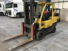 Hyster S5.5FT forklift truck, 5.5 ton capacity, Serial no: G004V03146E, YOM: 2007, Usage: 8,000