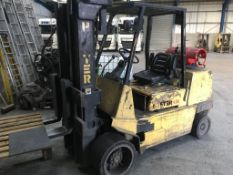 Hyster S4.50XL forklift truck, 4.5 ton capacity, Serial no: D004D0G0754, YOM: 2000, Usage: 8,700