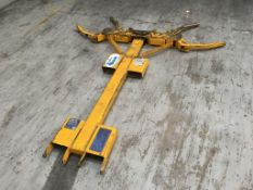 Contact Attachments 2,000 kg car lift forklift attachment. Please note: This item has no record of