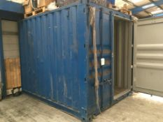 Cargo container, 8 ft x 10 ft