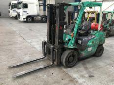 Mitsubishi FG30N forklift truck, 3 ton capacity, Serial no: EF13FL-02218, YOM: 2012, Usage: 10,300