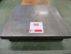Metal surface plate 310mm x 310mm