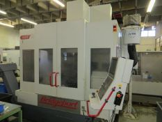 Hardinge Bridgeport 5AX 500 CNC vertical machining centre with Heidenhain control residue