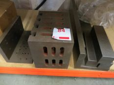Angle plates and machine blocks as lotted