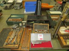 Quantity of various measuring equipment as lotted