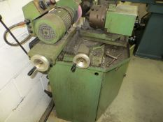 Brierley ZB50 cutter grinder Serial no. 504L1260. *A work Method Statement and Risk Assessment must
