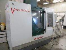 Bridgeport VMC600 XP CNC vertical machining centre with Heidenhain control Year: 2002 Serial no.