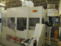 Hardinge Bridgeport MV204 CU/15 CNL vertical machining centre with Heidenhain control, residue