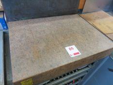 Starrett Granite surface block 610mm x 460mm x 100mm