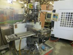 Bridgeport Eztrak Series 1 vertical milling machine with BPC-2M control Serial no. EZ1-CH-4965. *A
