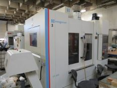 Hardinge Bridgeport XR 1000 CNC vertical machining centre with Heidenhain control, residue discharge