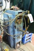 Meritus 30kva spot welder, model 5002580, serial no: 28823, 250mm throat (please note: A work Method
