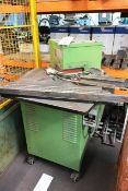 Femco hydraulic corner notcher, 200 x 200mm. *Please note: NB: this item has no CE marking. The