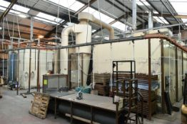 All inclusive lots 69 to 74 (Thorid powder coating plant) *(please note: A work Method Statement and