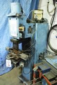 Sciaky 100kva profile welder, model PA100, serial no: 23010, 300mm approx thread. Please note: An