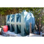 Titan plastic fuel storage tank, with K33 High Accurancy meter (please note: no cap & not bunded)
