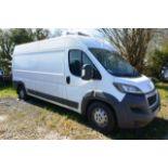 Peugeot Boxer 435 PROFESSIONAL L3 LWB refrigerated panel van, 2,198cc Diesel, reg no: WL15 BWY,