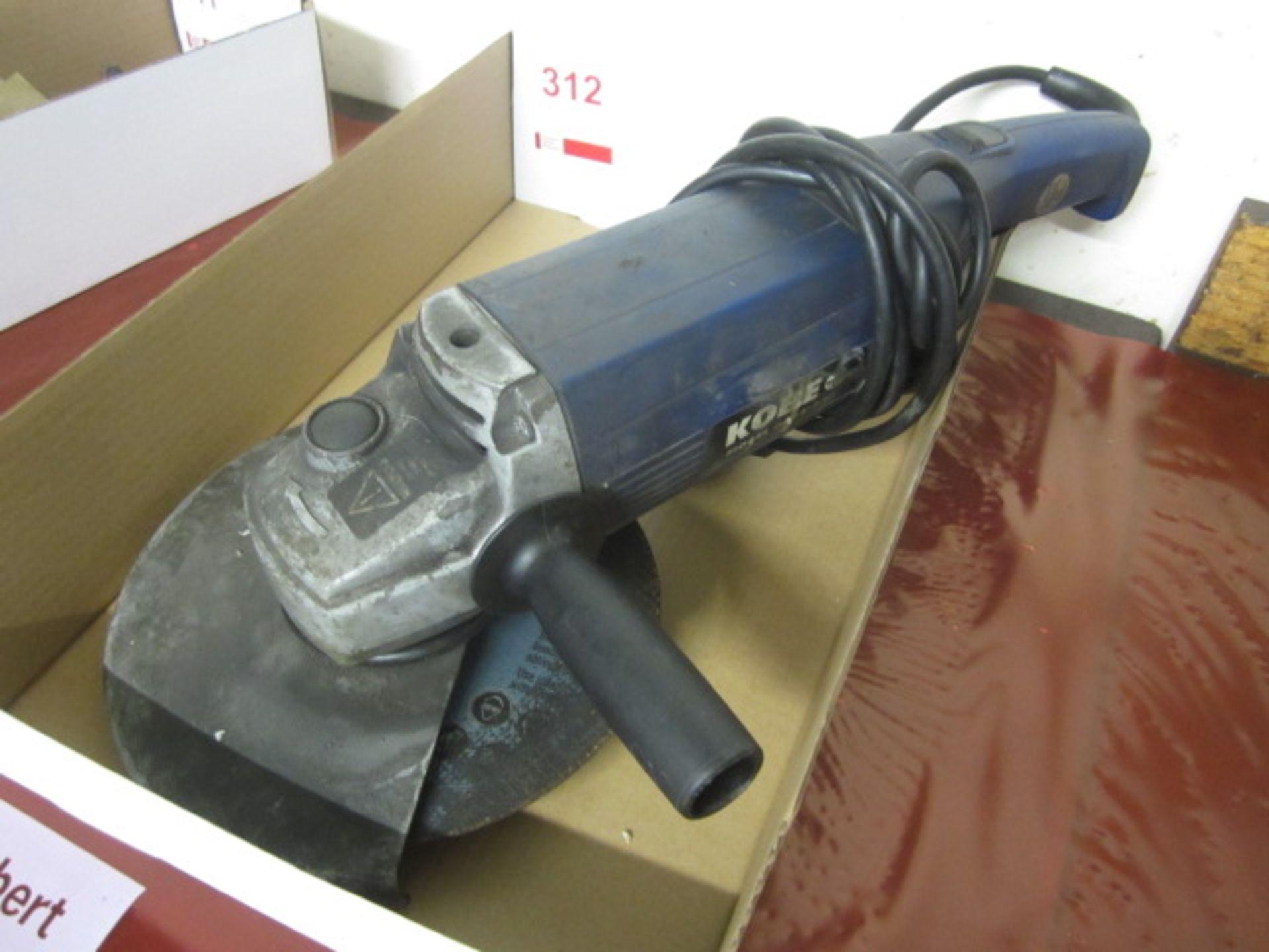 Lot 312 - Kobe GA21-230, 240v angle grinder