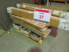 A pallet of drawer rollers