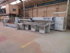 Holzma HPP300 profiLine panel saw, Type: HPP300/38/32, Serial No. 0-240-02-4932, Year of