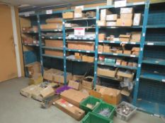 Assorted furniture parts and fittings