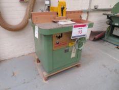 Wadkin Bursgreen BER3 spindle molder Serial No. 72756, NB. A work Method Statement and Risk