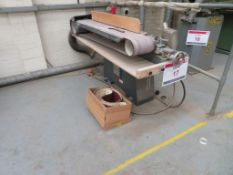 Whitehead horizontal belt sander, Type: ST, Serial No. 52669. NB. A work Method Statement and Risk