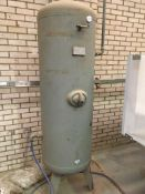 HPC 490 litre vertical air receiver