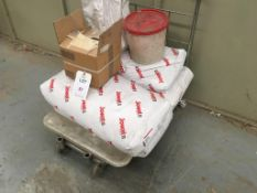 Resin and a works trolley