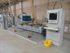 Weeke Venture 3 CNC machining centre, Type: Optimat BHC Venture 3, Serial No. 0-250-11-1508, Year of