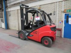 Linde H30 EVO LPG forklift truck 3000kg capacity, Type: H30T-02, side shift, 4,150mm open and 2,