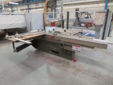 Altendorf F45 panel saw, no. 90-4-178, NB. A work Method Statement and Risk Assessment must be
