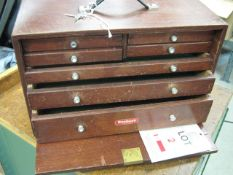 Toolmakers Cabinet with key