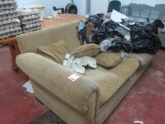 Upholstered 2 and 3 seat settee