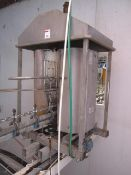 Bayle type LG700 freestanding line washer with twin nylon brushes, s/n: 62, approx. height of