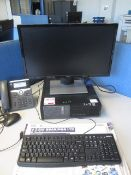 Dell Optiplex 790 computer system, flat screen monitor, keyboard, mouse